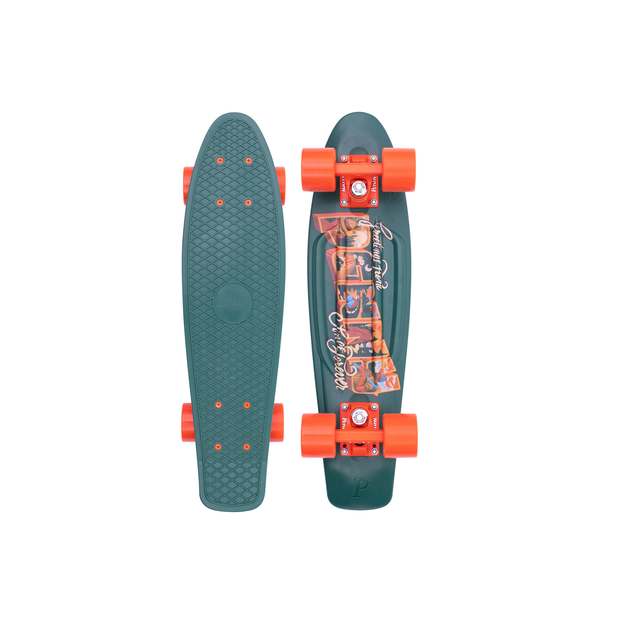 "Penny Skateboards Penny Complete Postcard Highland 22"""