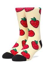 HUF Strawberry Socks Pale Lemon