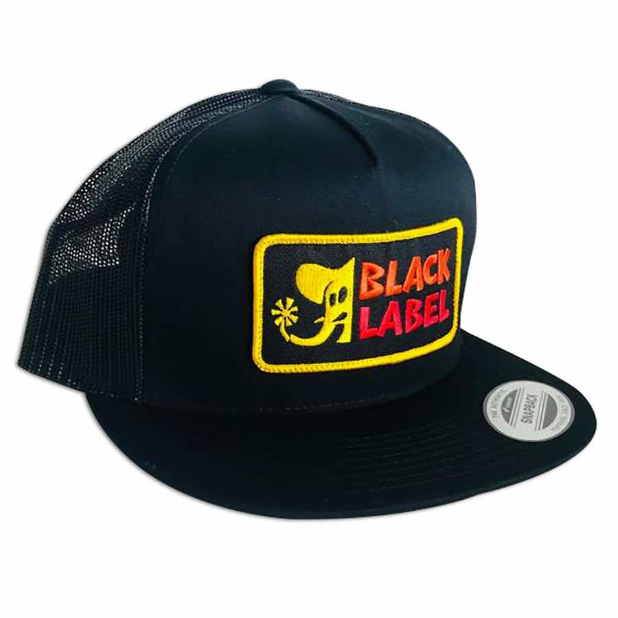 Black Label Elephant Sector Hat Black/Black