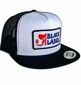Black Label Elephant Sector Hat Black/White