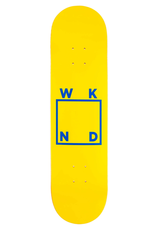"WKND Logo Yellow/Blue 7.75"""