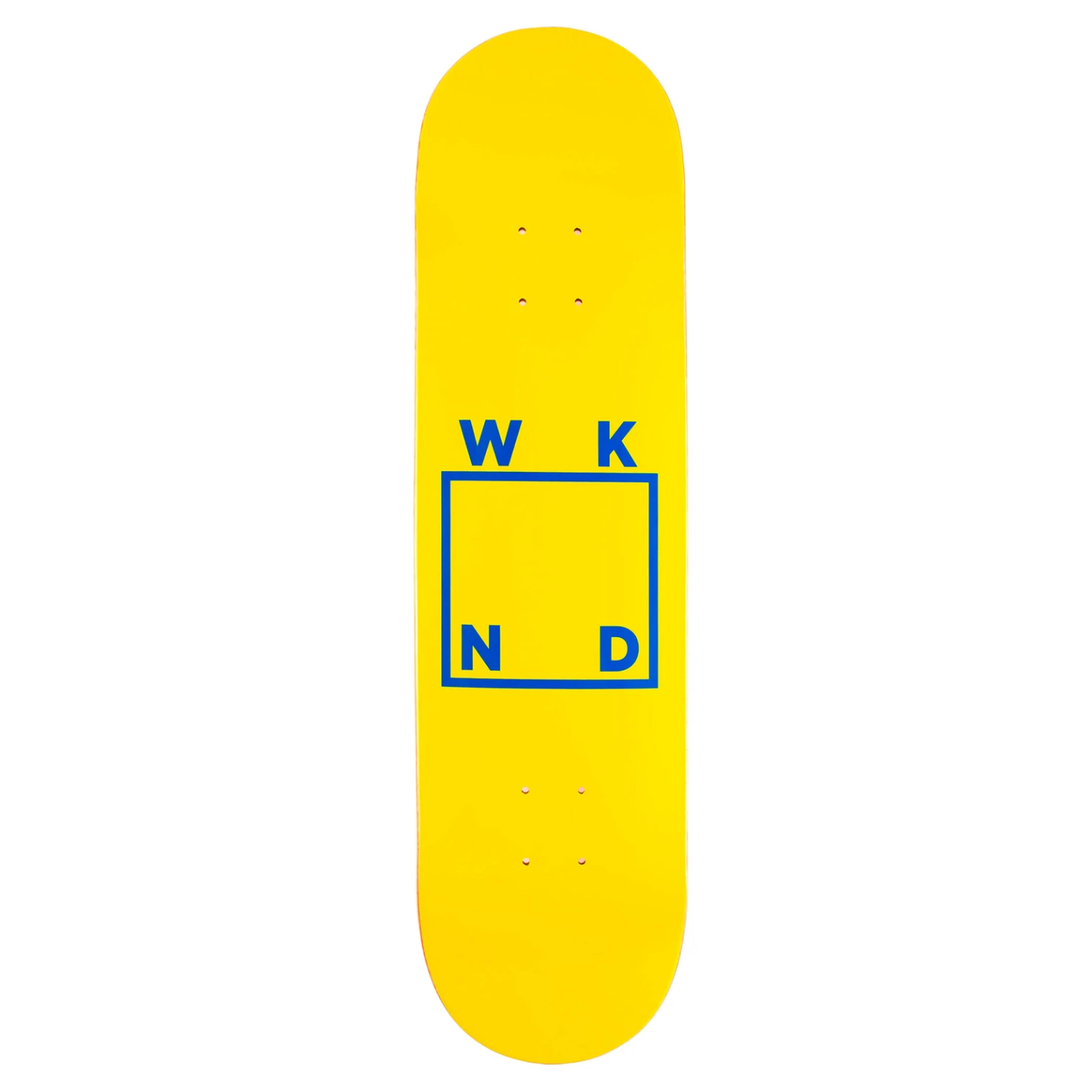 WKND Logo Yellow/Blue 7.75""