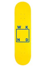 "WKND Logo Yellow/Blue 8.0"""