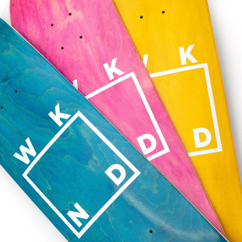 "WKND Logo Assorted Veneer 8.5"""