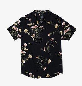 RVCA Lazarus Floral S/S Black
