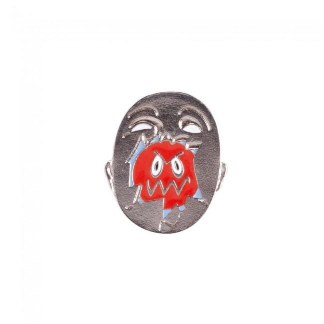 Hockey Broken Face Pin