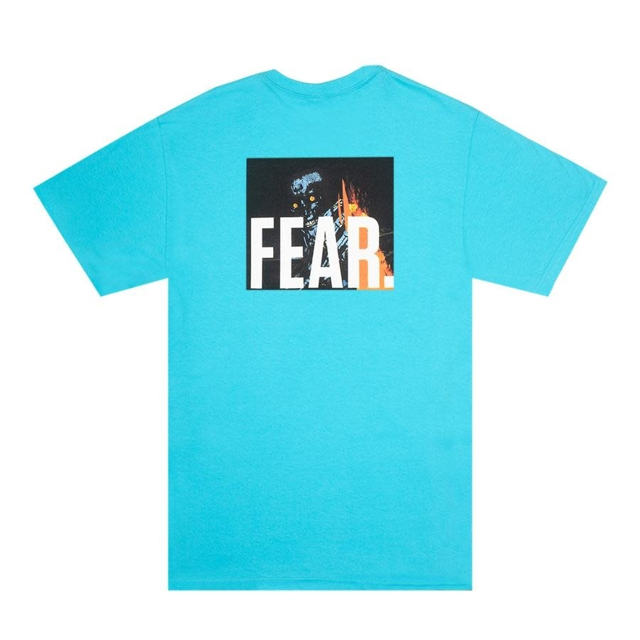 Fucking Awesome Fear Tee Tropical Blue