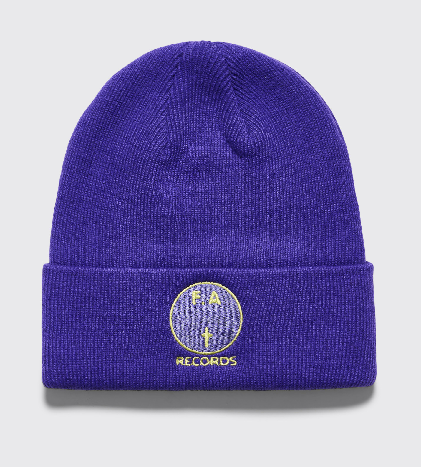 Fucking Awesome FA Records Beanie Purple