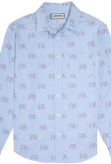 Fucking Awesome Oxford Button Down Shirt Blue