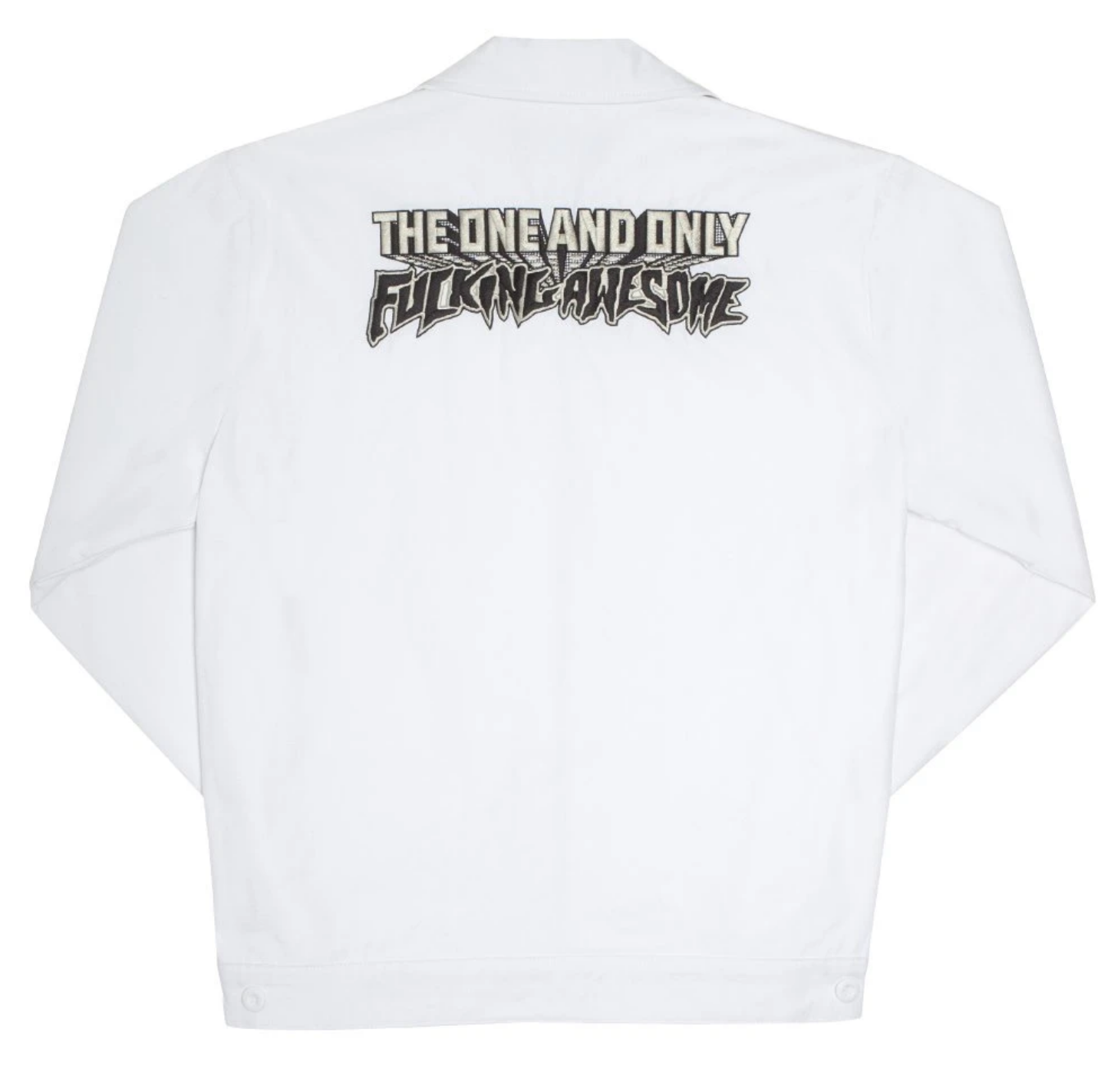 Fucking Awesome One & Only Jacket White
