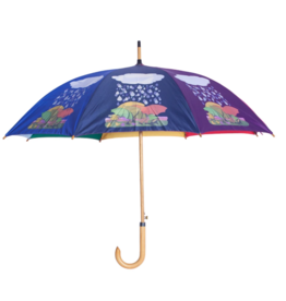 Fucking Awesome Multi Color Umbrella