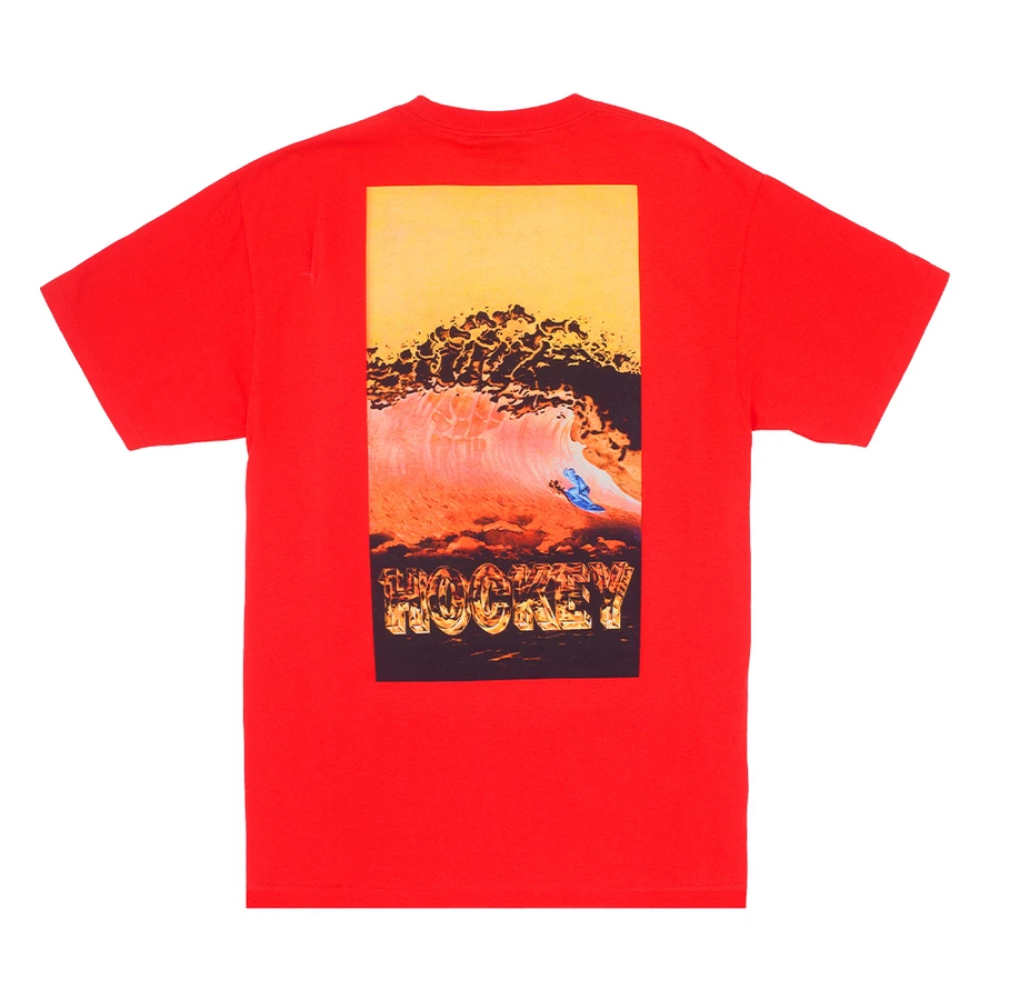 Hockey Silver Surfer Tee Red