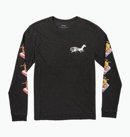 RVCA Gallop L/S Black