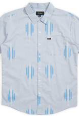 Brixton Charter Print S/S Light Blue