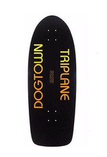 "Dogtown Jim Muir Triplane Reissue 11"" Black Yorkite/Neon Orange"