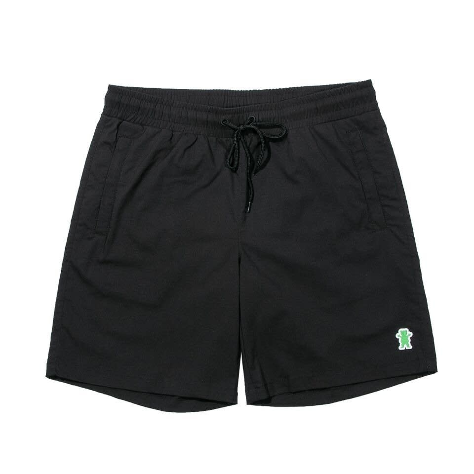 Grizzly Griptape Summit Warm Up Black Short