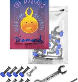 """Diamond Supply Company, Inc Diamond Hella Tight Hardware Mariano 7/8"""""""