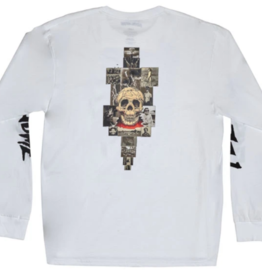 Fucking Awesome Collage L/S Tee White