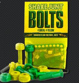 """Shake Junt SJ Hardware Green/Yellow Phillips 7/8"""""""