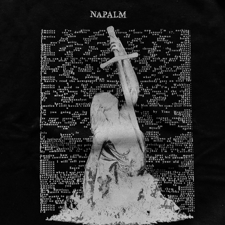 Napalm America Crewneck Black