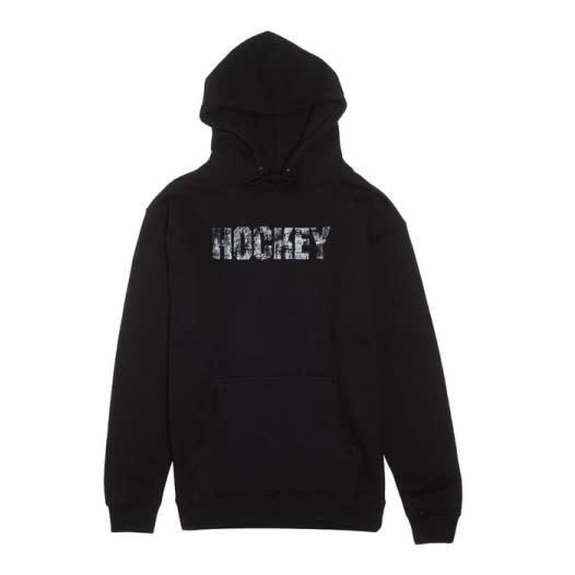 Hockey Carve Hoodie Black