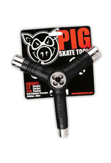 Pig Wheels Pig Tri-Socket Threader Black Tool