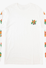 RVCA Jungle L/S Tee Antique White
