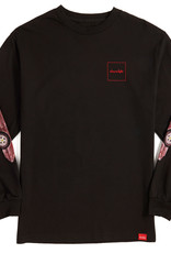 Chocolate Skateboards Chocolate Ferrari L/S Black Tee