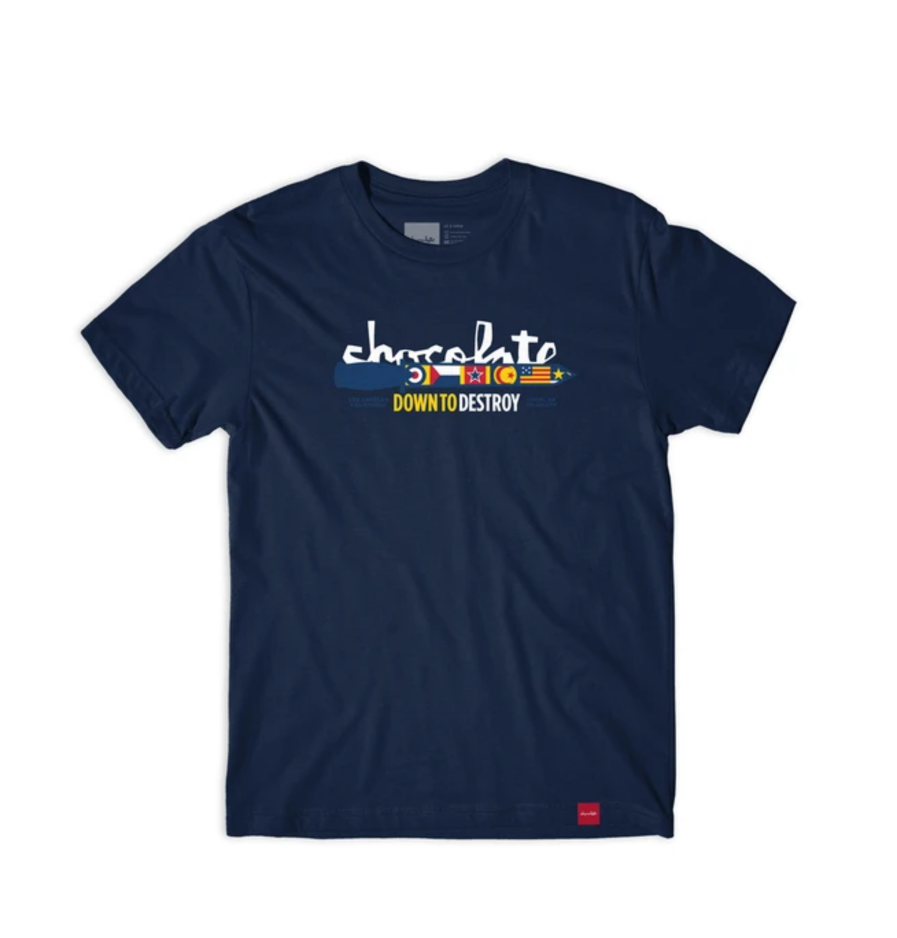 Chocolate Skateboards Chocolate Knife Tee Navy