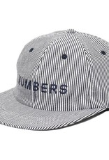 Numbers Edition Wordmark Mini Denim Stripe 6panel