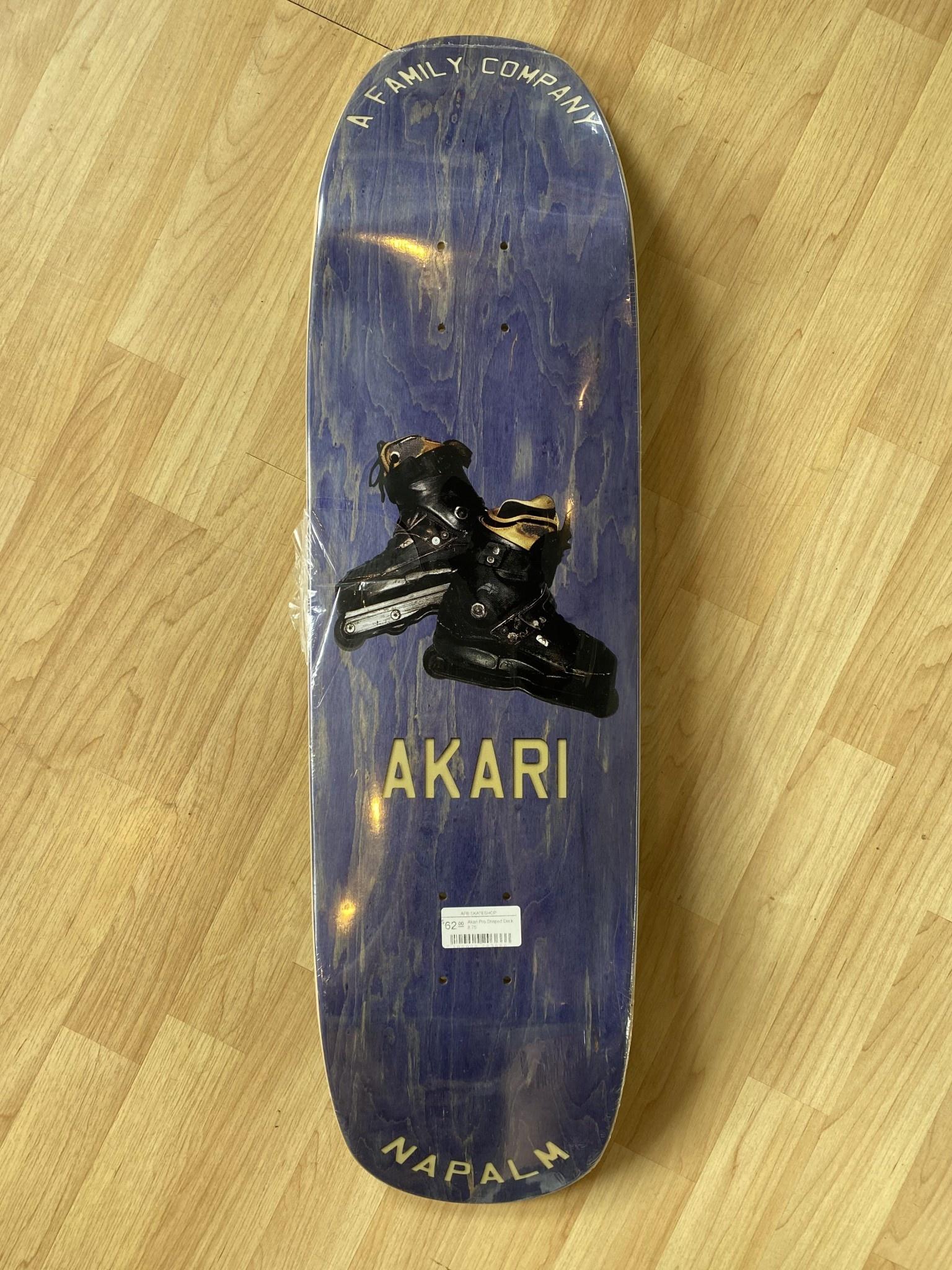 Napalm Akari Pro Shaped Deck 8.75