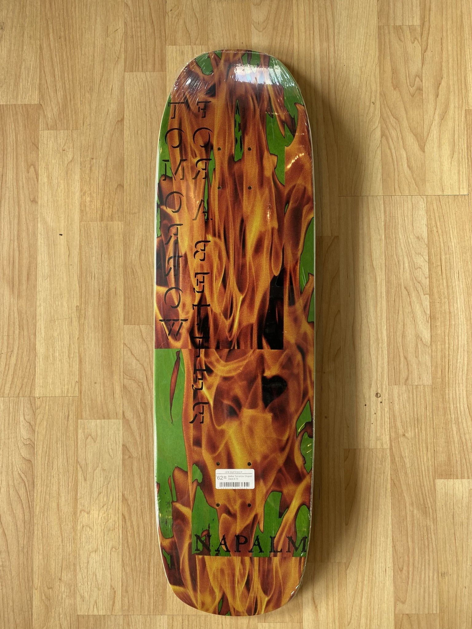 Napalm Better Tomorrow Shaped Deck 8.75