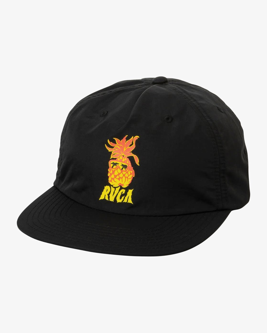 RVCA Graphic Pack Snapback Black