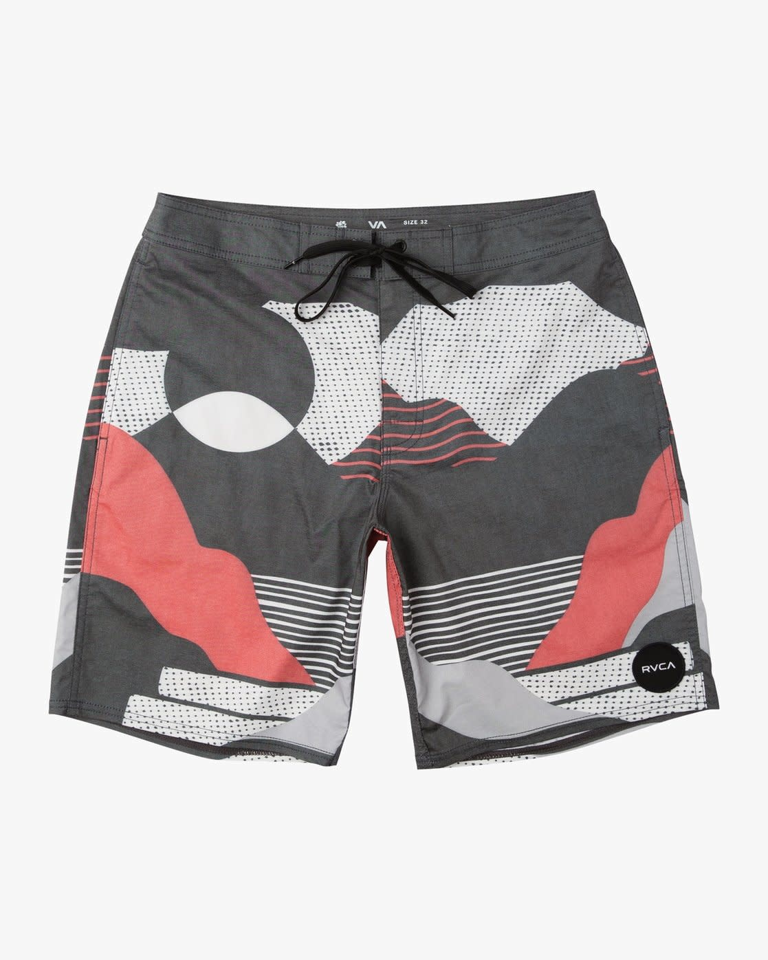 RVCA Outlook Trunk Black