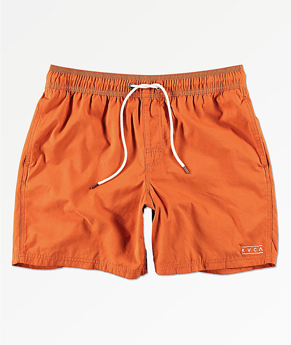 RVCA Gerrard Elastic Rust Orange