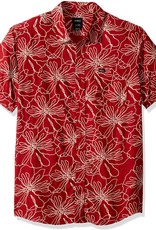 RVCA Blind Floral Brick Red