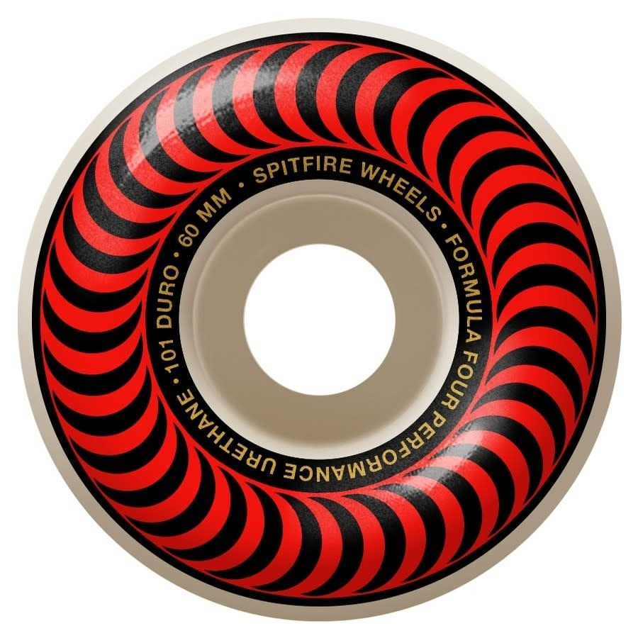 Spitfire Wheels Spitfire F4 101d Classic Red 60mm