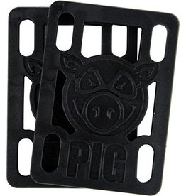 "Pig Wheels Pig Riser Pad 1/8"" Black"