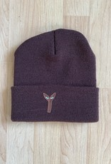 Stingwater Aya Patch Brown Beanie