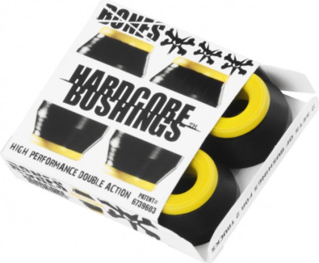 Bones Bones Hardcore Bushings Med/Black