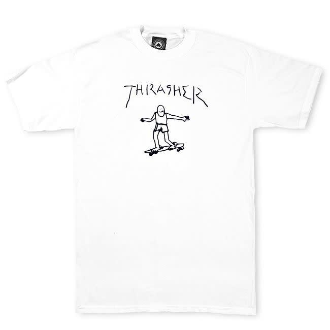 Thrasher Mag. Gonz Thrasher White Tee