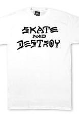 Thrasher Mag. Skate & Destroy White Tee