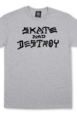 Thrasher Mag. Skate & Destroy Grey Tee
