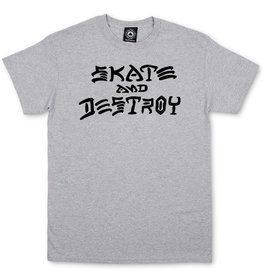 Thrasher Mag. Skate & Destroy Grey Tee