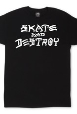 Thrasher Mag. Skate & Destroy Black Tee