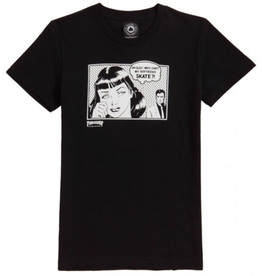 Thrasher Mag. Boyfriend Womens Black Tee