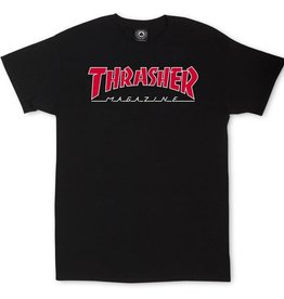 Thrasher Mag. Outlined Black Tee