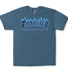 Thrasher Mag. Flame Logo Dark Heather Tee