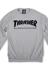 Thrasher Mag. Skate Mag Crew Grey