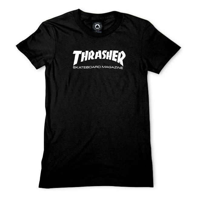 Thrasher Mag. Skate Mag Women's Black Tee